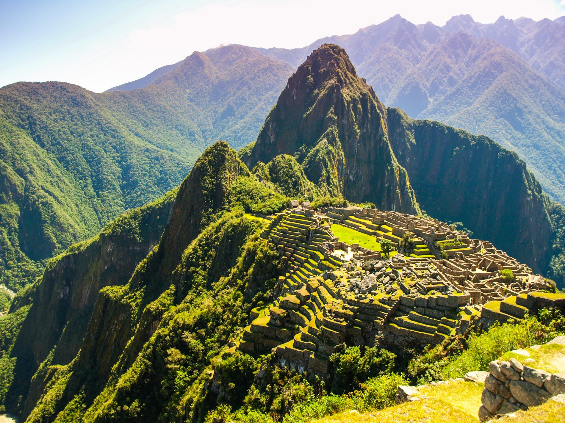 Beautiful view of Machu Picchu (Peru) Central America
