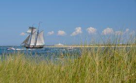 Sailboat in Nantucket