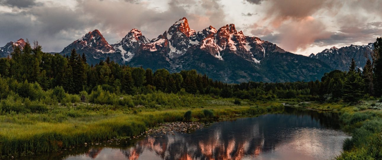 Grand Tetons Mountains